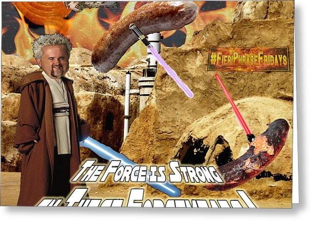 guy fieri birthday card ; force-is-strong-in-these-forcemeats-big-tasty