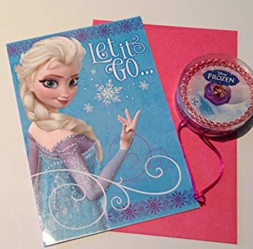 hallmark frozen birthday card ; 71B6Qh4l75L