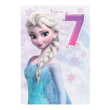 hallmark frozen birthday card ; 91sAHCSOAYL