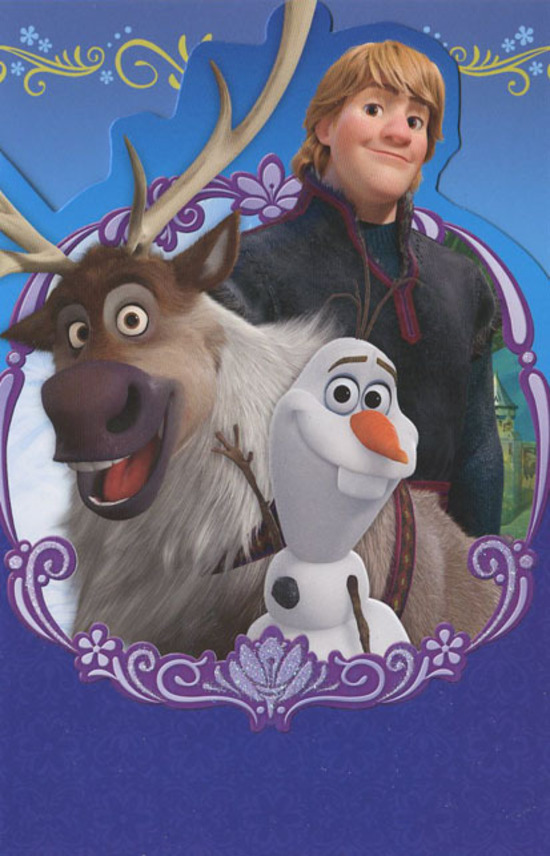 hallmark frozen birthday card ; HMKID638064
