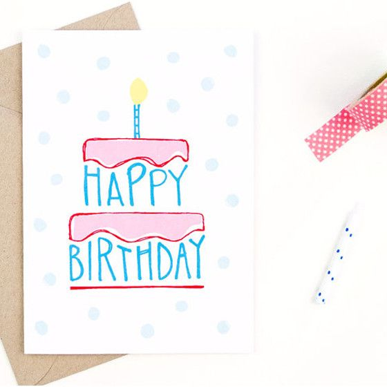 hand drawn birthday card ideas ; card-design-for-birthday-happy-birthday-card-hand-drawn-happy-birthday-and-envelopes-ideas