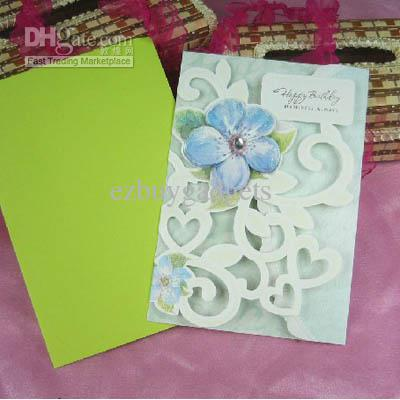hand made birthday greeting cards ; 1