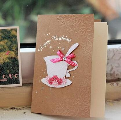 hand made birthday greeting cards ; happy-birthday-greeting-cards-creative-coffee