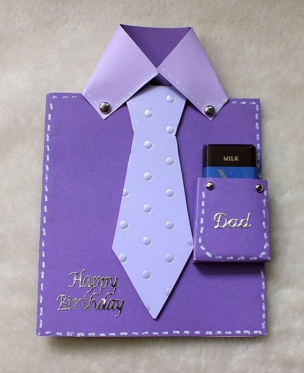hand make birthday card ; homemade-birthday-card-ideas-for-dad