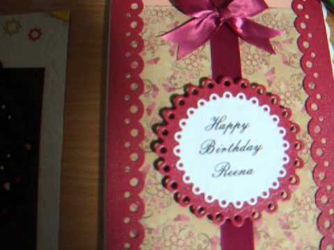 hand make birthday card ; hqdefault