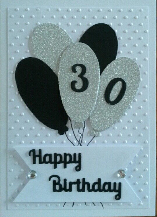 handmade 30th birthday card ideas ; 420e18c5a7cae2a5c61c1994cf3ba153