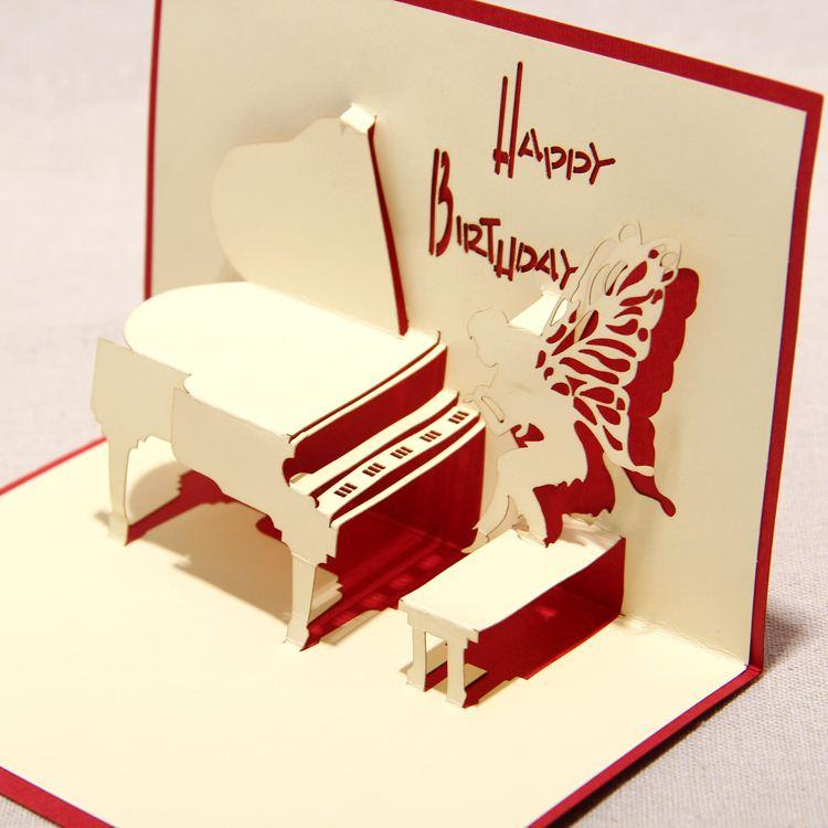 handmade greeting cards for birthday ; 2015-new-3d-handmade-card-greeting-cards