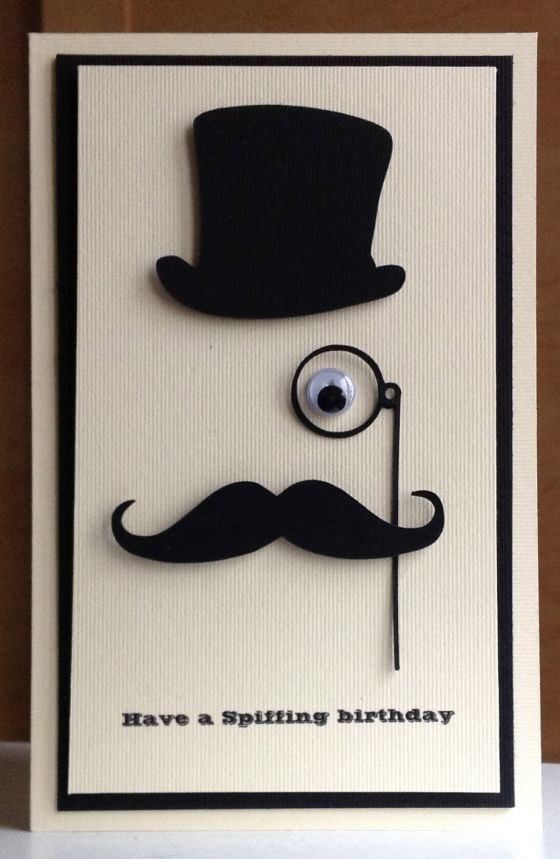 handmade masculine birthday card ideas ; best-25-masculine-birthday-cards-ideas-on-pinterest-mens-intended-for-simple-handmade-birthday-cards-for-men