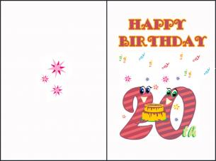 happy 20th birthday cards printable ; happy-20th-birthday-cards-printable-medium