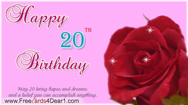 happy 20th birthday cards printable ; happy-20th-birthday-greeting-card