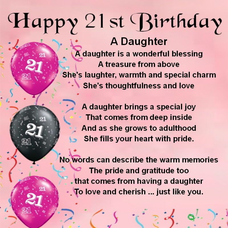 happy 21st birthday daughter ; ba0bea6d1e4821e24e297a4f8b91dcde