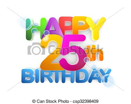 happy 25th birthday images ; happy-25th-birthday-title-light-drawing_csp32398409