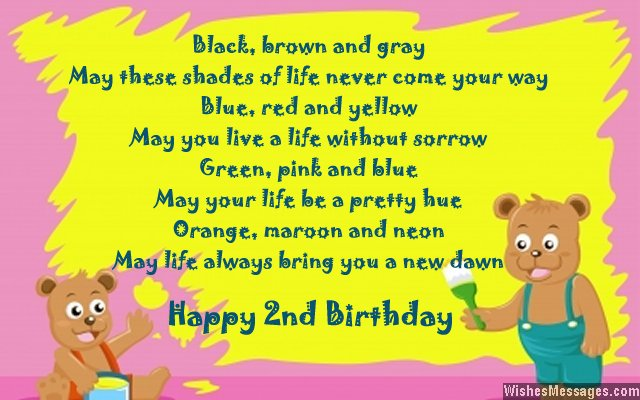 happy 2nd birthday daughter card ; Sweet-second-birthday-card-greeting