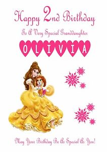 happy 2nd birthday daughter card ; s-l300