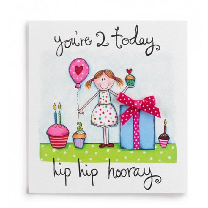 happy 2nd birthday daughter card ; the-collection-of-colorful-and-pretty-birthday-cards-to-send-to-your-treasured-daughter-2