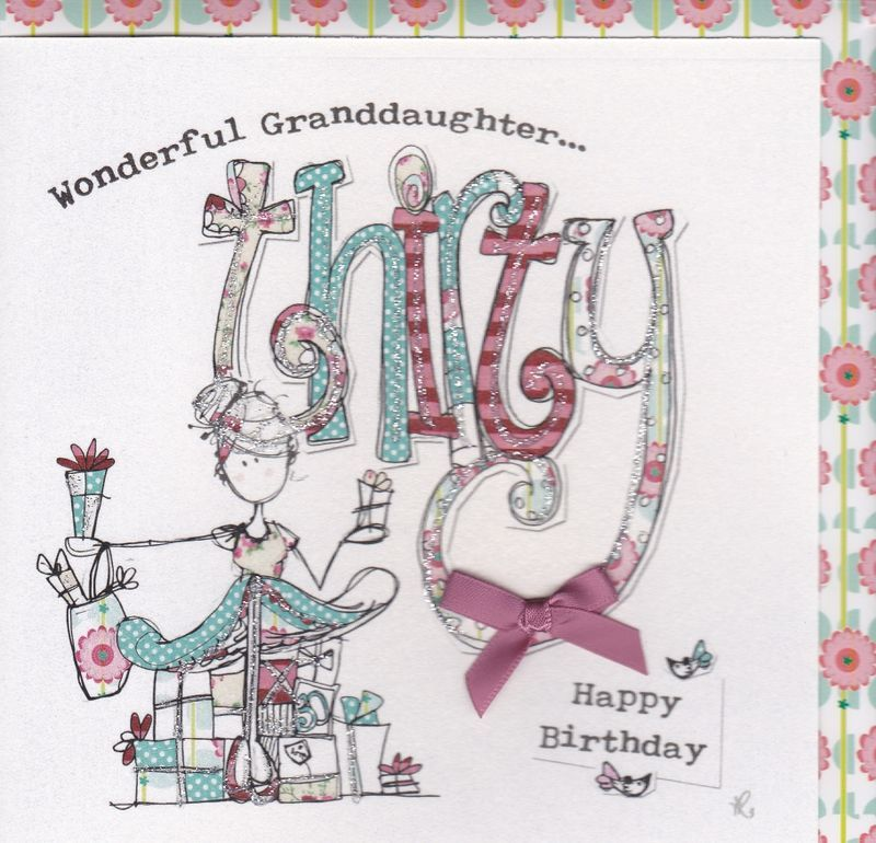 happy 30th birthday daughter ; buy-granddaughter-thirtieth-birthday-card-online-cards-for-granddaughers-on-their-30th-age-thrity-age-30-grandchild-birthday-card_grande