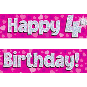 happy 4th birthday images ; pink-age-4-banner-big
