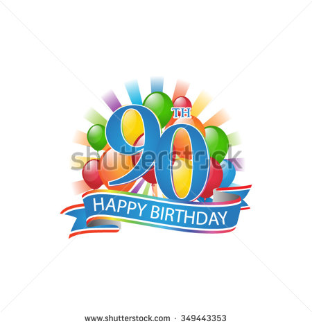 happy 90th birthday free clip art ; stock-vector--th-colorful-happy-birthday-logo-with-balloons-and-burst-of-light-349443353