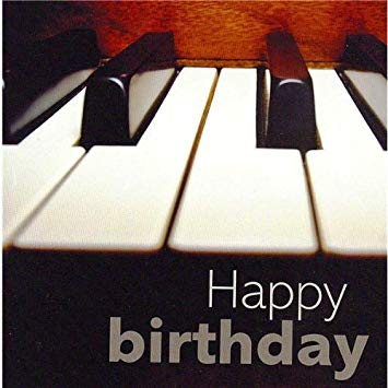 happy bday piano ; 51vn9M-bAPL