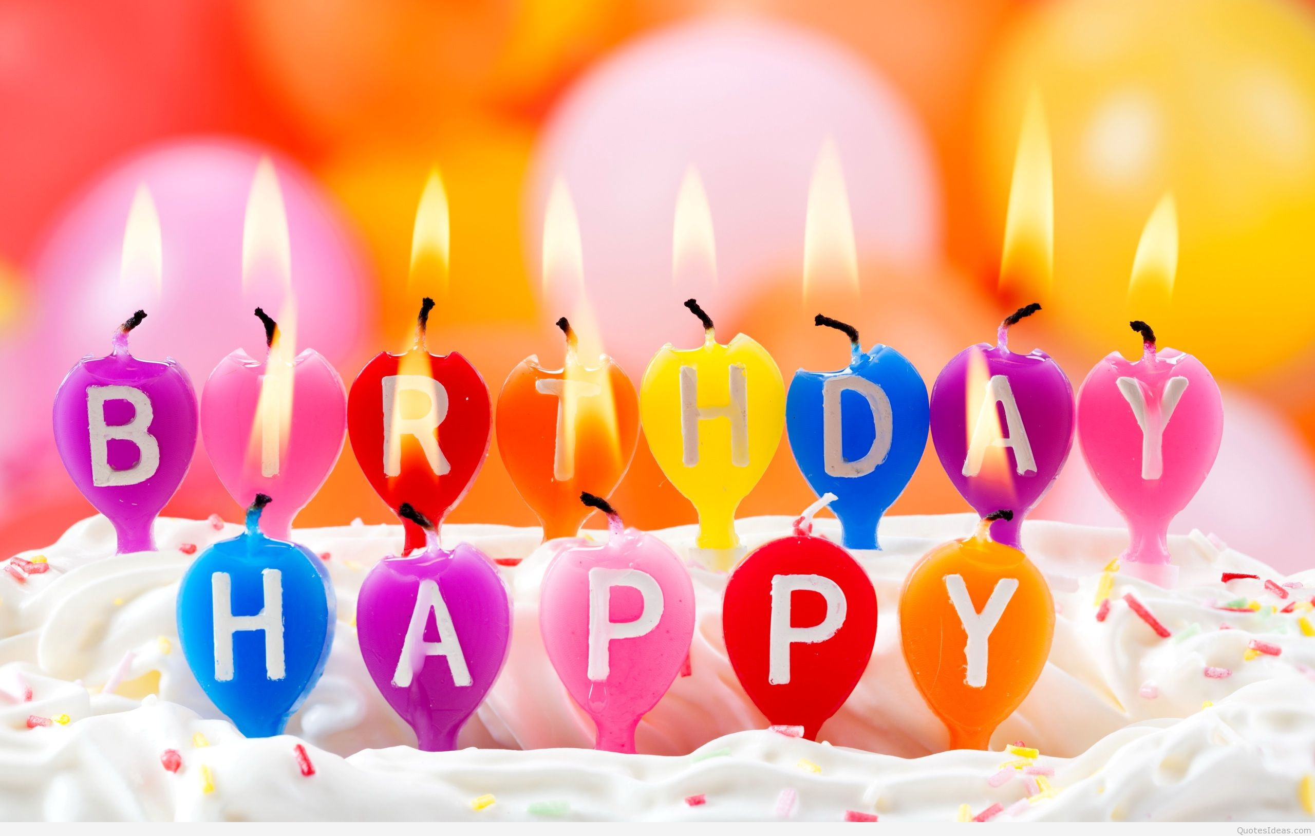 happy bday pic msg ; Candles-Happy-Birthday-message