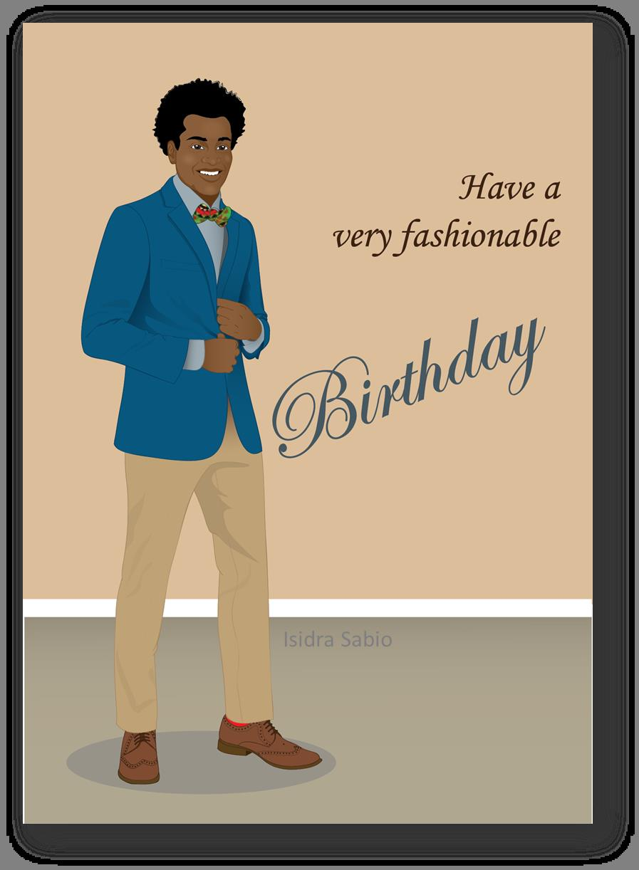 happy birthday african american man ; 4770cd95186d6d8759f3a6ce58b408c9