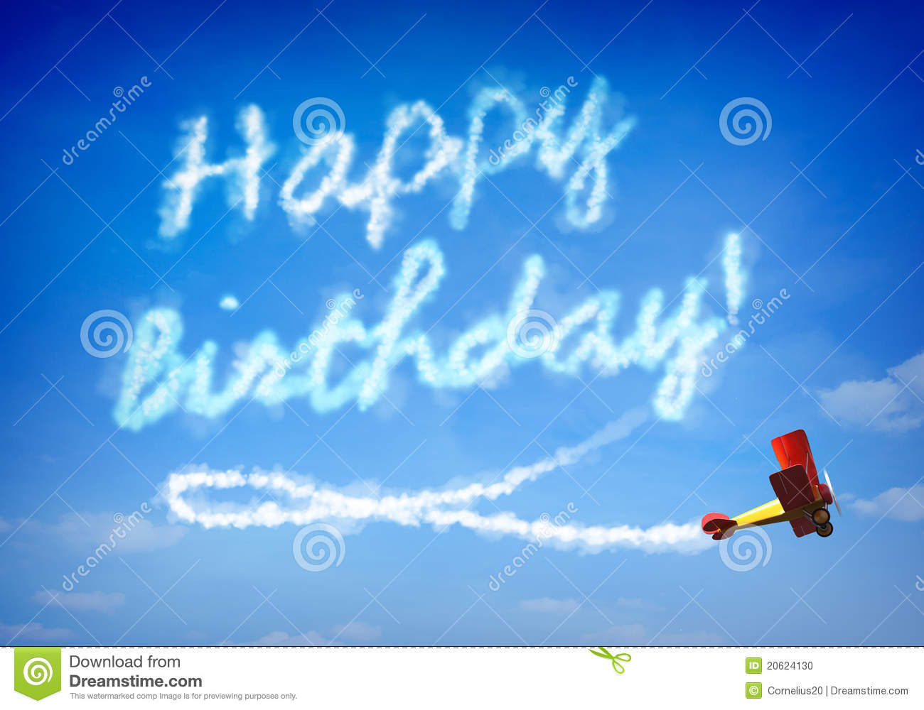 happy birthday airplane message ; happy-birthday-20624130
