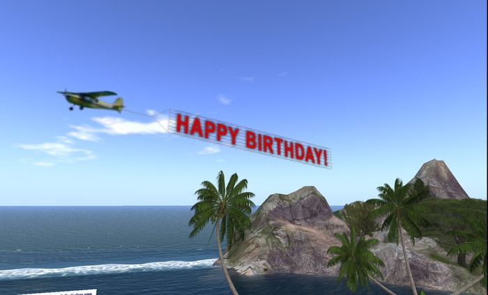 happy birthday airplane message ; happy_birthday_001