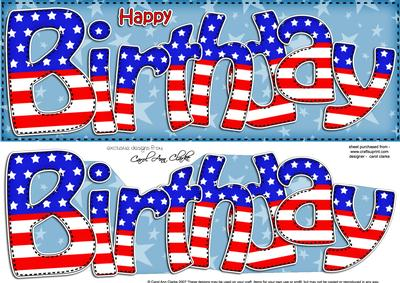 happy birthday american flag ; cup413514_359