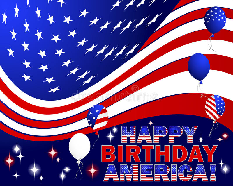 happy birthday american flag ; happy-birthday-america-independence-day-text-balloons-pattern-american-flag-31653701