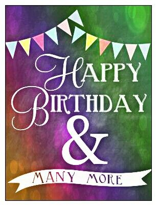 happy birthday and many more ; 6007d1db7cd444f1bf0eb36714b302a1--happy-birthday-chalkboard-happy-birthday-bunting