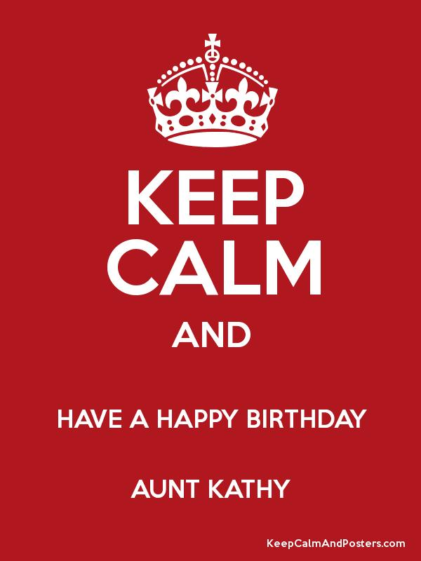 happy birthday aunt kathy ; 3812850