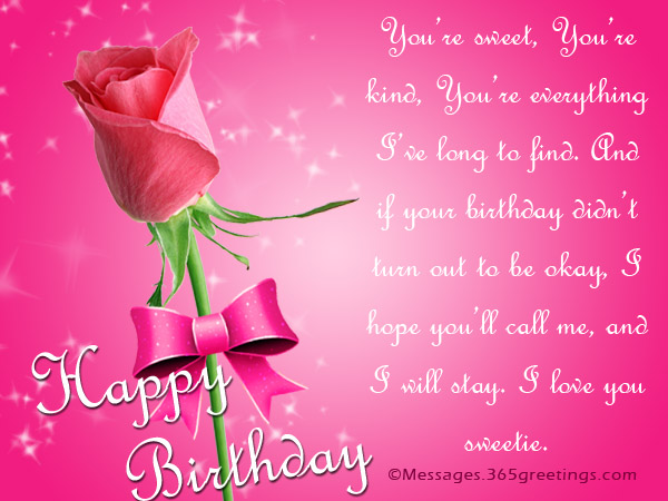 happy birthday babe poem ; happy-birthday-messages-for-someone-special