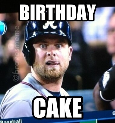 happy birthday baseball meme ; BDknNB3CcAE8b04