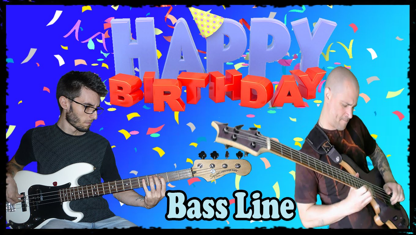 happy birthday bass ; maxresdefault