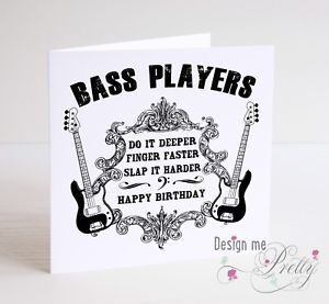 happy birthday bass ; s-l300