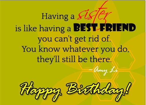 happy birthday best friend sister ; 273295-Having-A-Sister-Is-Like-Having-A-Best-Friend-Happy-Birthday