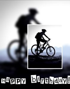 happy birthday biker ; biker-birthday-card-elegant-happy-birthday-bicycle-man-by-paulhamon-birthday-cards-of-biker-birthday-card