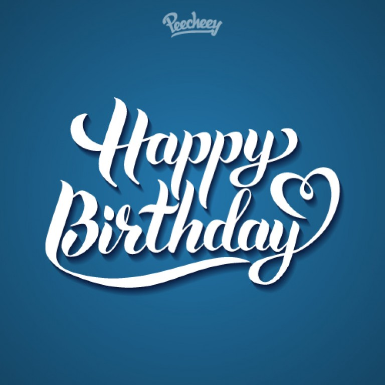 happy birthday blue ; lettering1-768x768