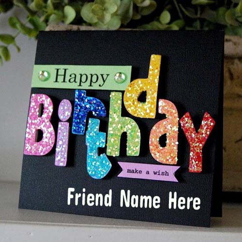 happy birthday card with name and photo edit ; 64a501761dfc7884c8c3f746d985005a