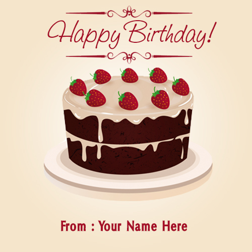 happy birthday card with name edit free download ; strawberry-chocolate-birthday-cake-pics-with-name-demo