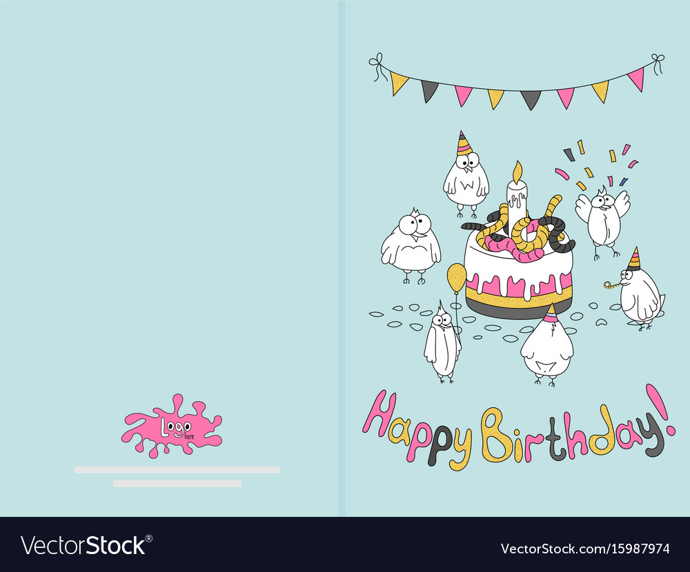 happy birthday cards to print ; ready-for-print-happy-birthday-card-design-with-vector-15987974