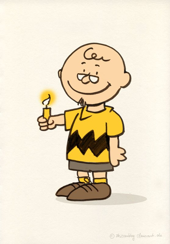 happy birthday charlie brown ; clausbrown
