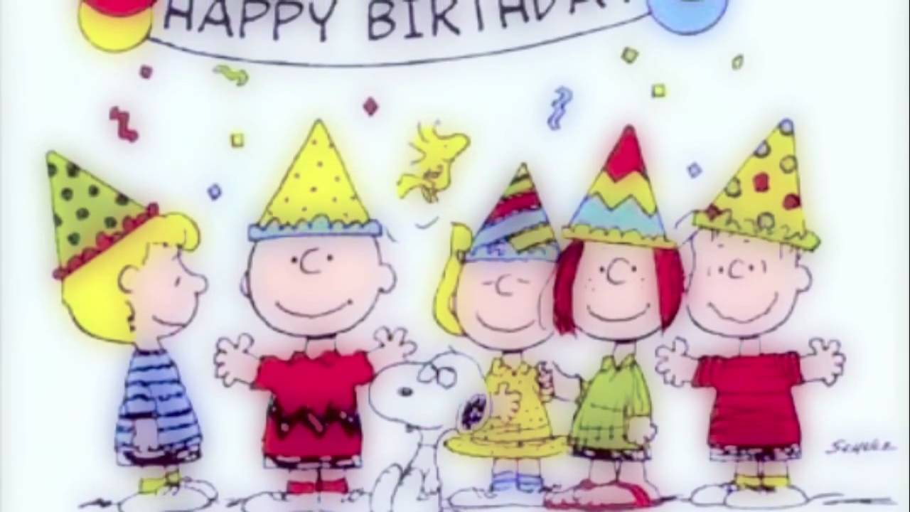 happy birthday charlie brown ; maxresdefault