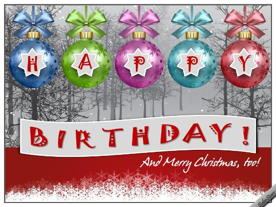 happy birthday christmas ; 326817