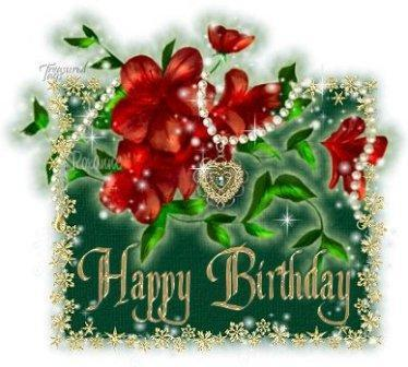 happy birthday christmas ; Happy-Birthday-flowers-jewels