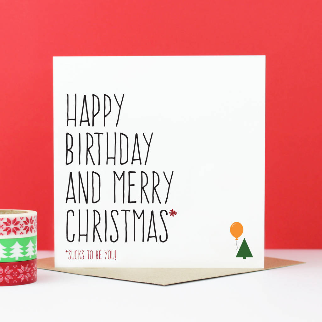 happy birthday christmas ; original_happy-birthday-merry-christmas-card