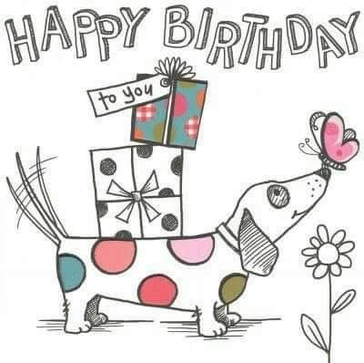happy birthday clip art with dogs ; 8d308c9576fccd2b6a2cff0ad73e462d