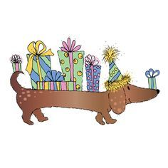 happy birthday clip art with dogs ; c2d853491336a9aa436d59bee8495450--dachshund-quotes-wiener-dogs