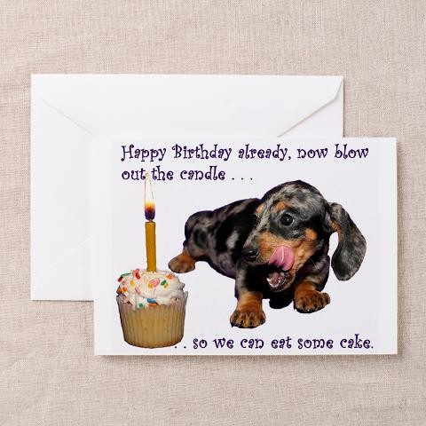 happy birthday dachshund ; dachshund-happy-birthday-dachshund-greeting-cards-pk-of-10-by-cafepress
