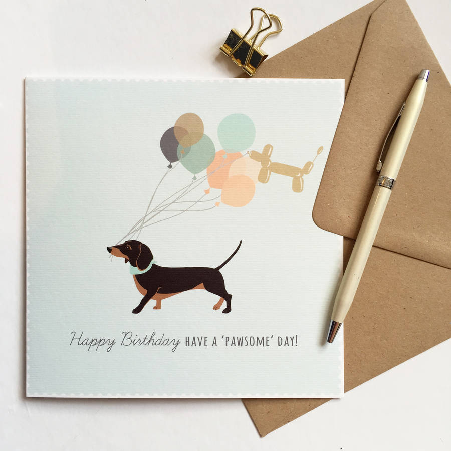 happy birthday dachshund ; original_dachshund-happy-birthday-card